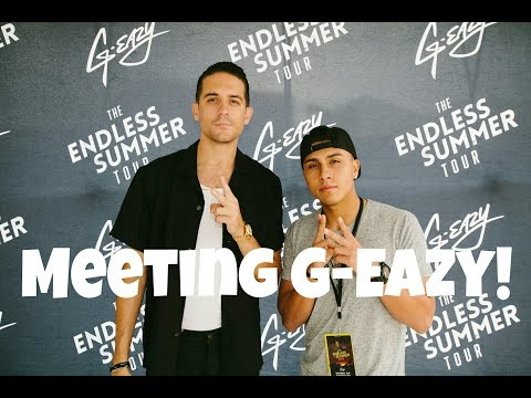 G-EAZY: The Endless Summer Tour Meet & Greet + More!