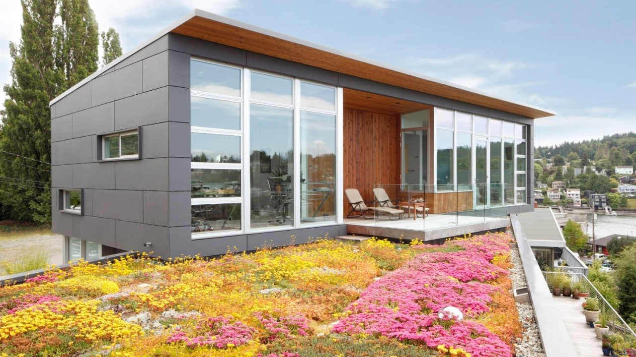 12 Modern Homes With Spectacular Green Roofs Youtube