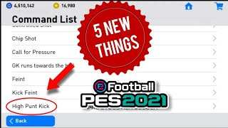 5 NEW THINGS YOU MUST NEED TO KNOW IN PES 19 MOBILE