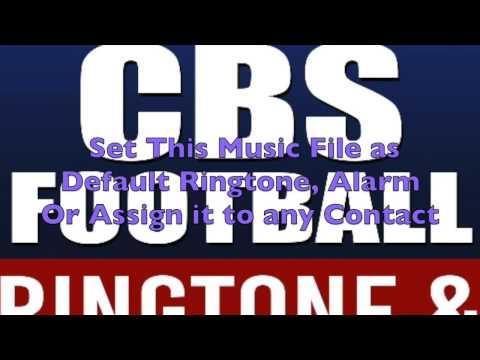 NFL on CBS Ringtone and Alert
