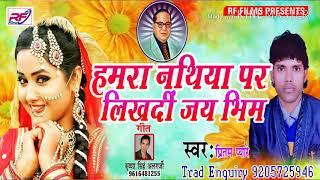 Video Bhim Geet हमरा नथिया पर लिखदी जय भीम - Hmara Nathiya Par Likhadi Jai Bhim Pirtam Peyare download MP3, 3GP, MP4, WEBM, AVI, FLV Oktober 2018