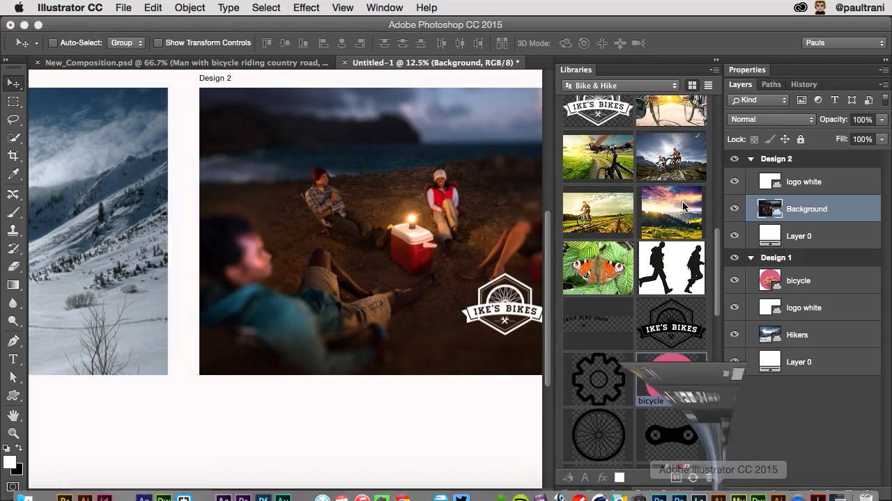 What S New In Photoshop For Print And Graphic Design Youtube