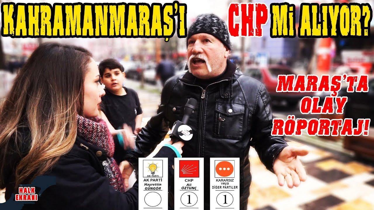 Kahramanmaraş'ta Şaşırtan Yerel Seçim Anketi