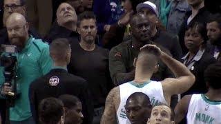 The GOAT Michael Jordan Hits Malik Monks Head!!!