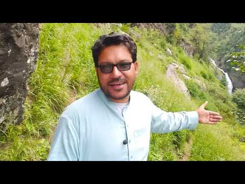 Pakistan Ka Sabse Khatarnak Waterfall Jaha Par Jana Mana He.(Kumrat Valley) (Jahaz Banda)