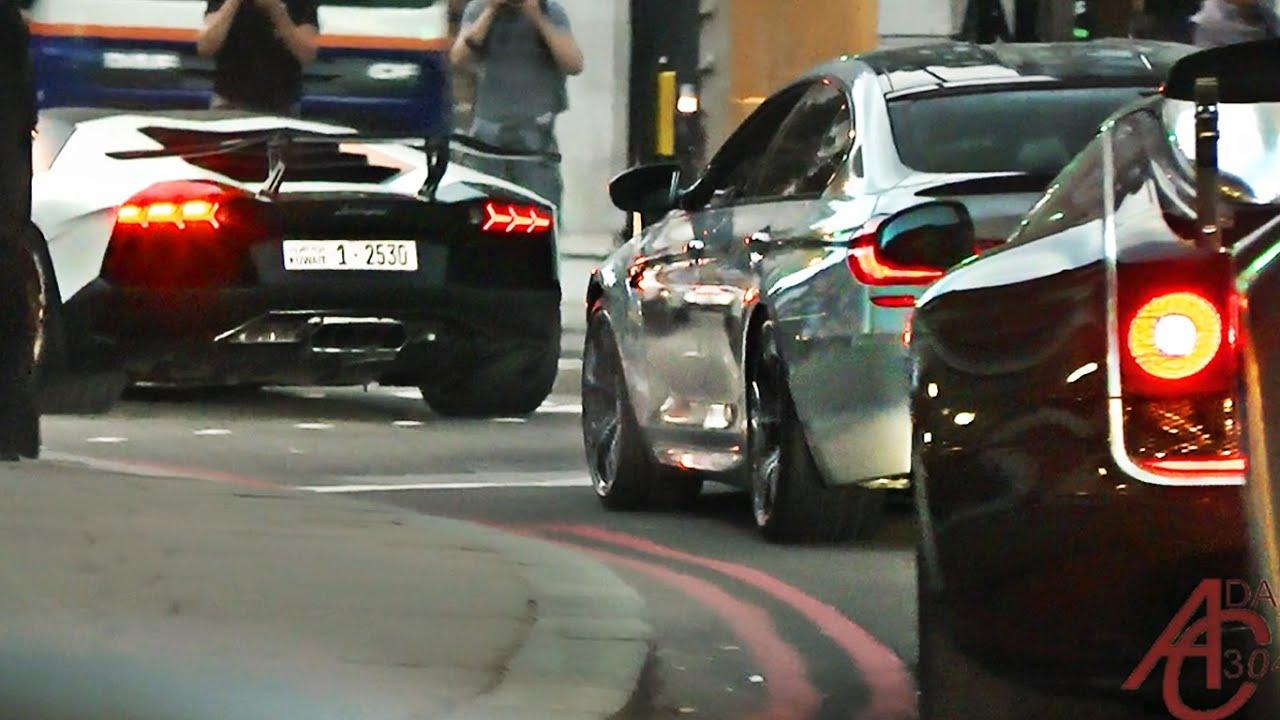 Supercar Spotting in London in an Alfa Romeo GT 1600 Junior