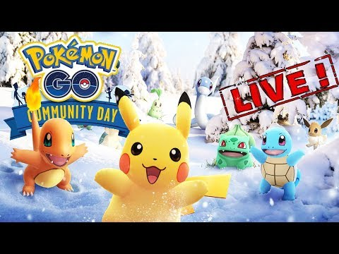 COMMUNITY DAY ALL STARS EN LIVE & PVP !! - POKEMON GO thumbnail