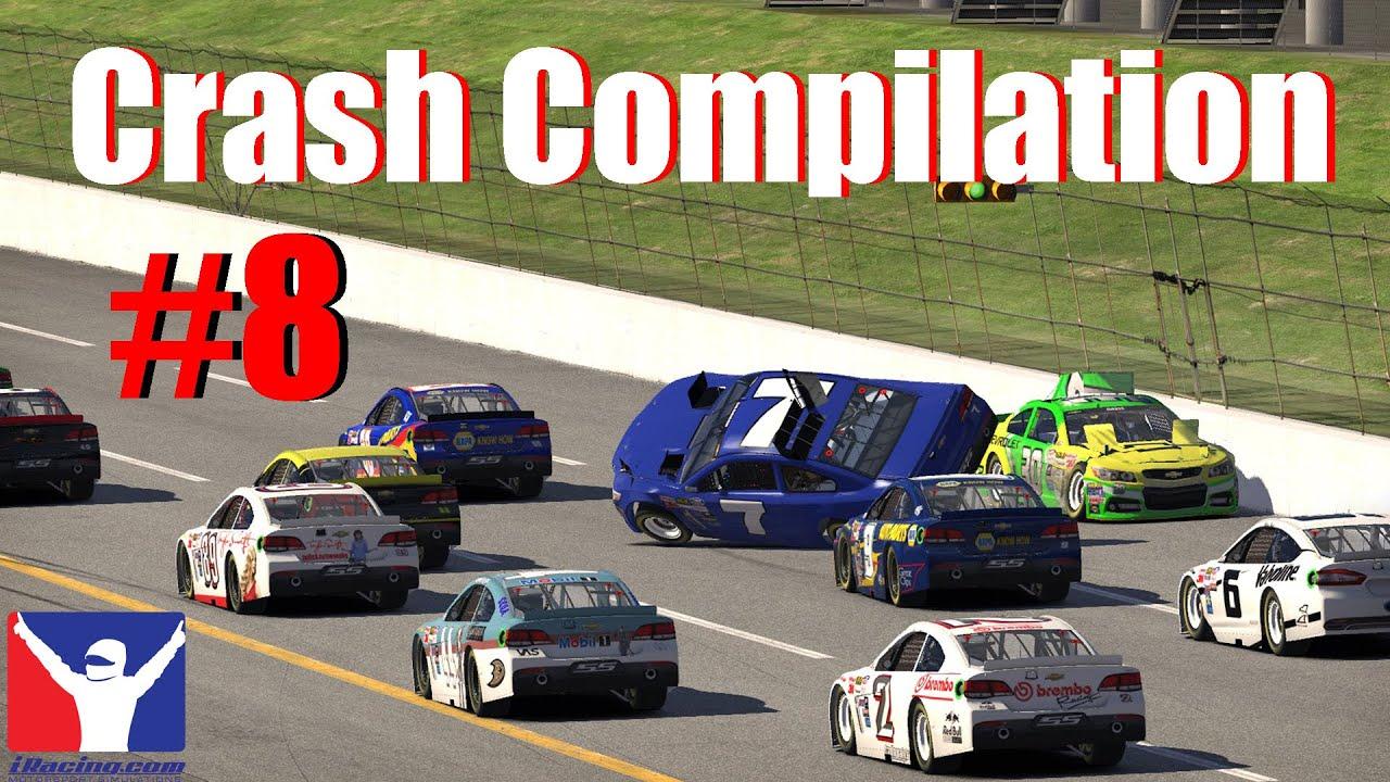 iRacing Crash Compilation #8 - YouTube