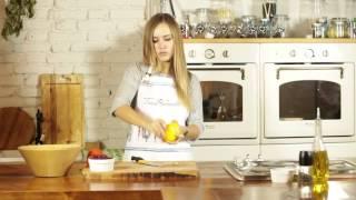 Снижаем лишний вес правильным питанием! Как приготовить вкусный вегетарианский салат за 5 минут!