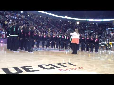 VC Sings National Anthem At Ohio State