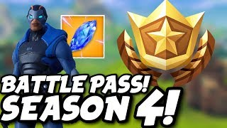 Fortnite Season 4 - Battle Pass!
