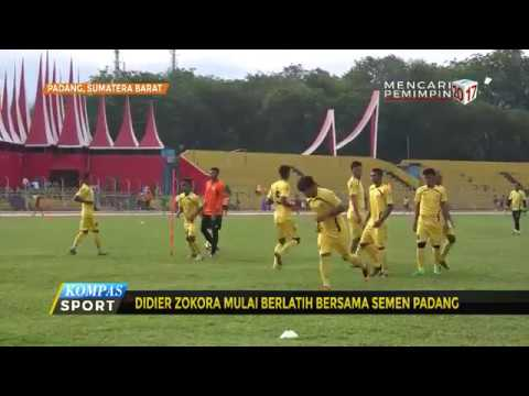 Didier Zokora Latihan Perdana Bersama Semen Padang