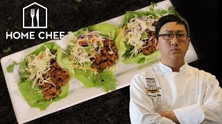 DIY Thai Pork Lettuce Wraps