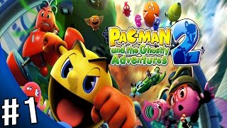 Pac-Man and the Ghostly Adventures 2 Walkthrough - Gameplay Part 1 - Pacopolis: Pac Patrol