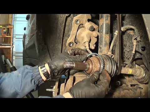 DIY: ABS Tone Ring & Ball Joint: Ford Escape