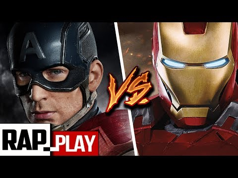 IRONMAN VS CAP. AMÉRICA | Civil War | Rock/RapPlay | KRONNO ZOMBER & NERY GODOY |