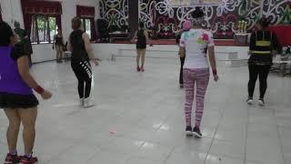 Senam aerobic part 2 musik stell kendo by erin supra nada