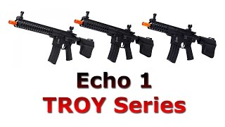 Troy Series TRX M4 Electric Airsoft Rifles