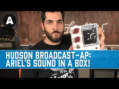 Introducing the Hudson Broadcast-AP | Ariel's Sound In A Box!