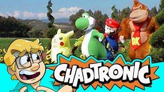 Nintendo Mascot Commercials - Chadtronic Reaction