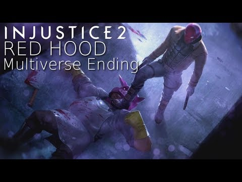 JASON TODD IS BACK!! Injustice 2 - Red Hood Multiverse Story Ending