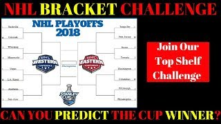 Stanley Cup Playoffs 2018 Preview - NHL Bracket Challenge 2018
