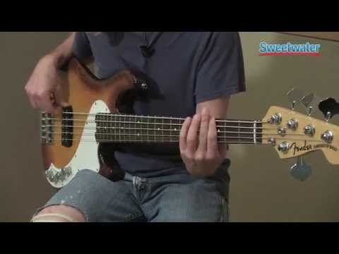 Fender Dimension Bass V Electric Bass Demo - Sweetwater Sound
