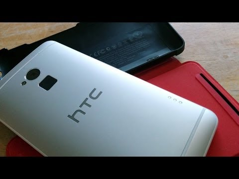 HTC One max Power Flip Extended Battery Case Hands-On