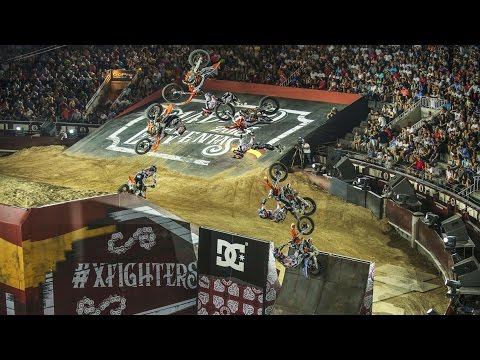 Freestyle Motocross Action From The Bullring - Red Bull X-Fighters 2015