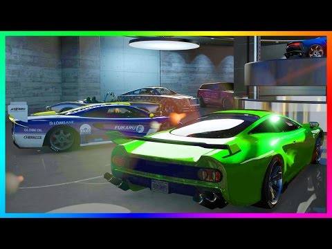 GTA ONLINE IMPORT/EXPORT DLC $100,000,000 SPENDING SPREE - BUYING NEW CARS, SPECIAL VEHICLES & MORE!
