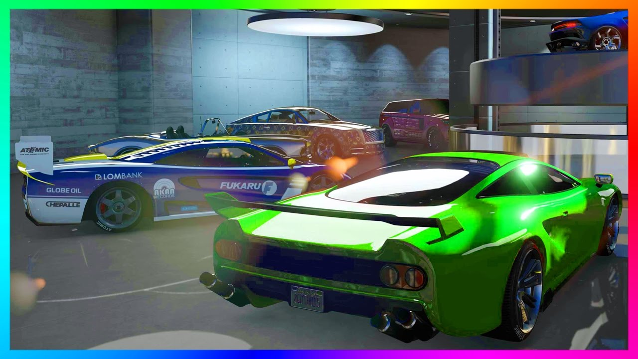 gta online import export dlc 100 000 000 spending spree buying new cars special vehicles. Black Bedroom Furniture Sets. Home Design Ideas