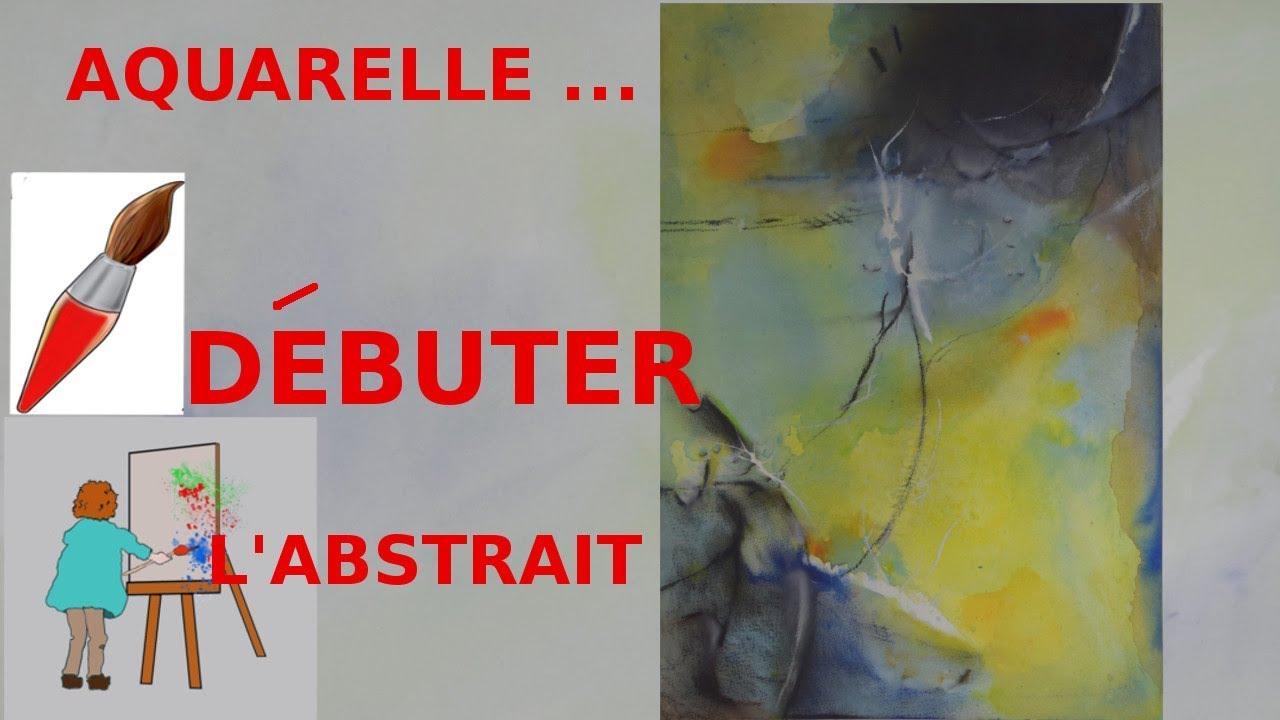 Image Aquarelle aquarelle abstraite : comment dÉbuter ? - youtube