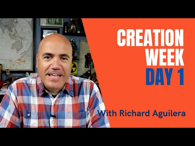 Creation Week 2021 with Richard Aguilera - Day 1