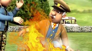 Nowe Strażak Sam odcinki  Niebezpieczeństwo pożaru! Kreskówki dla dzieci