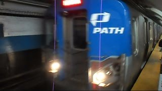 Path Subway Train Ride & Macys 4TH Of July Fireworks 2015