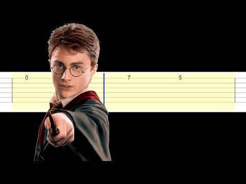 Harry Potter - Theme (Easy Guitar Tabs Tutorial)