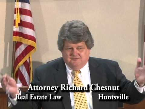 The People's Law School - Alabama:  Attorney Richard Chesnut - Real Estate Law