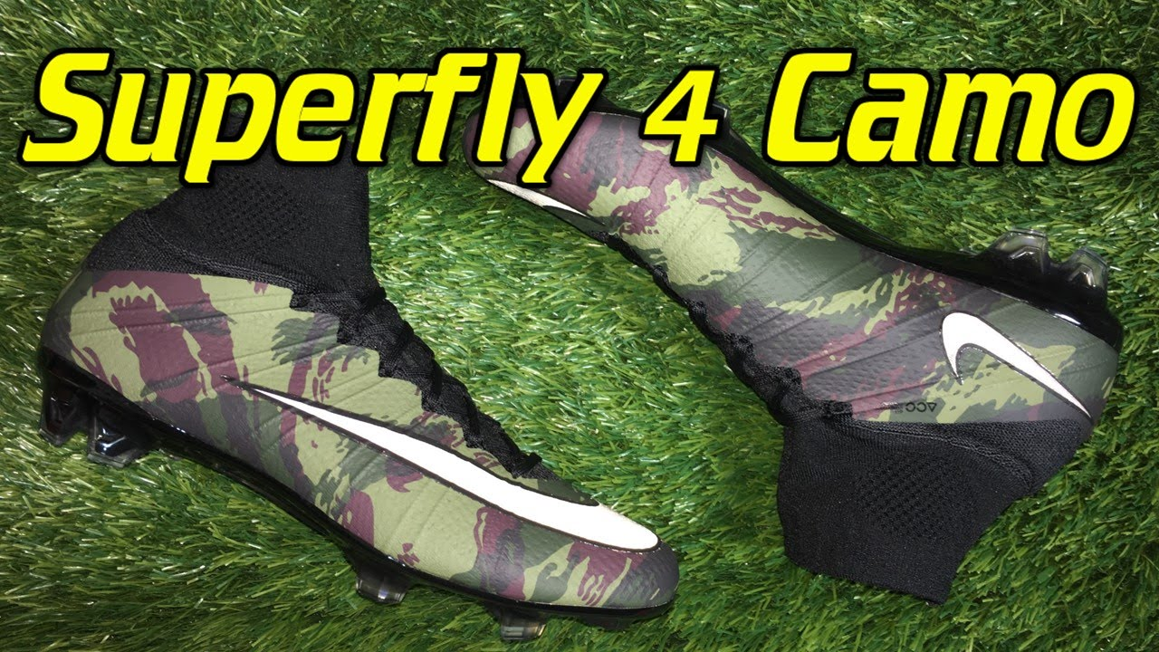 ecdd89c6b33 Nike Mercurial Superfly 4 Camo Pack - Review + On Feet - YouTube