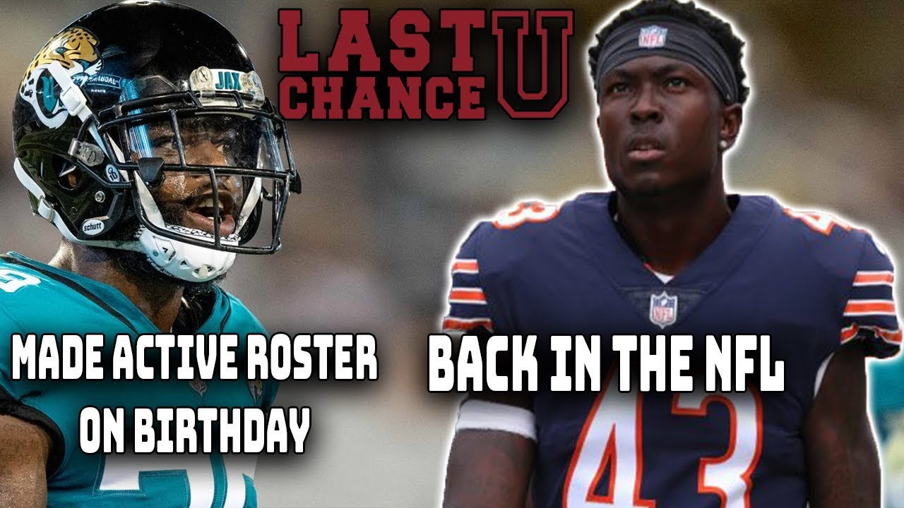 new product 5f35a 1714d JF3 Signs With Bears Practice Squad AGAIN! CJ Reavis Moved to Active Roster  on His Birthday!