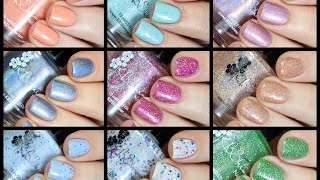 Kbshimmer Spring Collection Live Swatch + Review!!
