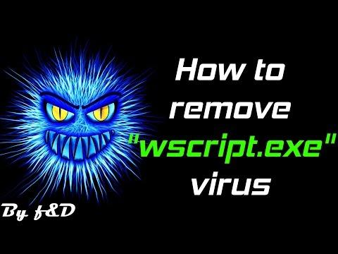 How to remove wscript.exe virus (unremovable shortcut virus) 2016