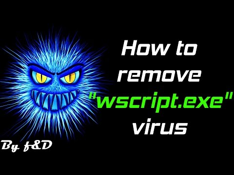 How to remove wscript.exe virus (unremovable shortcut virus) 2016