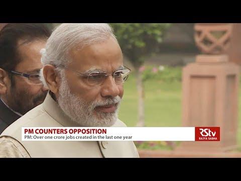 PM Modi counters Oppn on economy, jobs