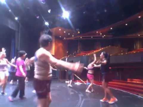 Dance Class  cruise ship - Instructor  Maissa