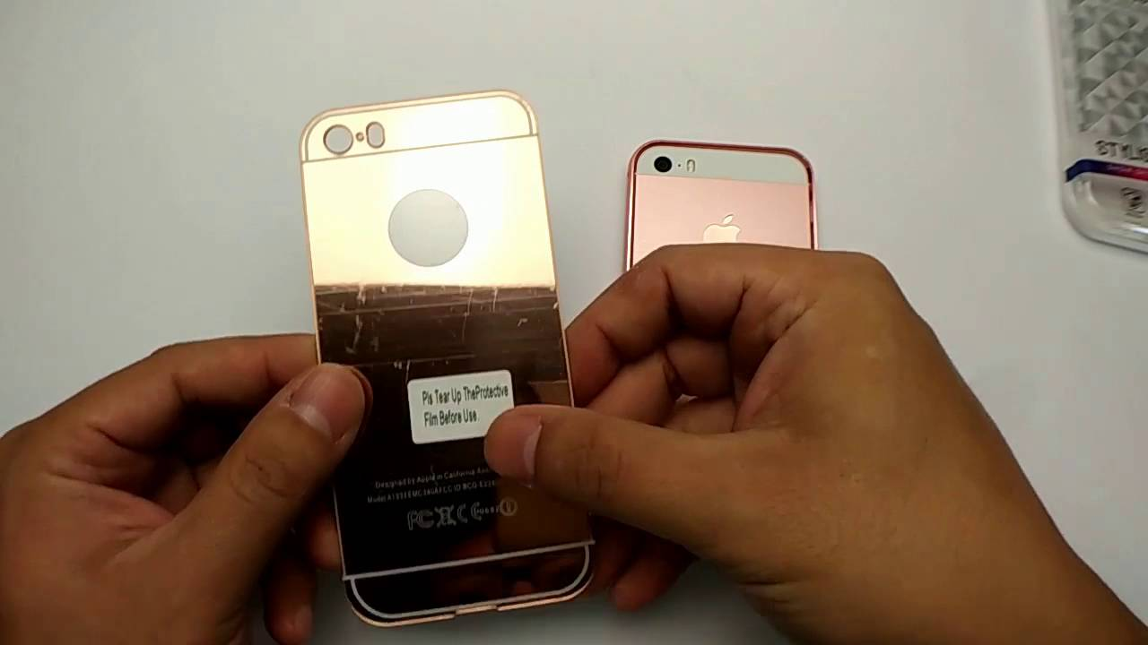 huge selection of 36883 9c56c New Luxury Aluminum Ultra-thin Mirror Metal Case Cover for iPhone 5 5s SE