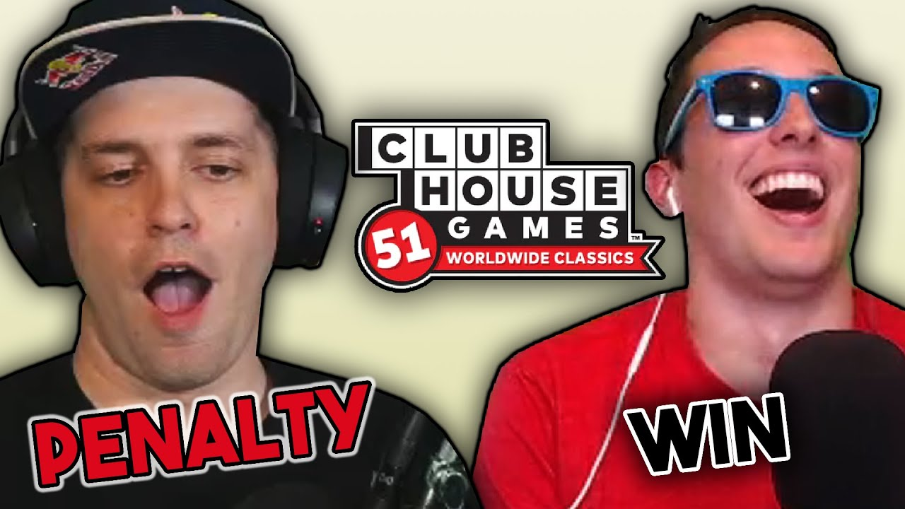 DGR is a RUTHLESS GAMER | Clubhouse Games FINALE