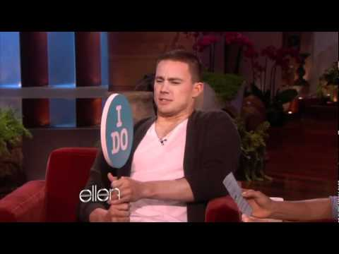 Channing Tatum Gets Personal with Ellen