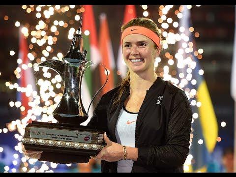 2017 Dubai Duty Free Tennis Championships Final | Svitolina vs Wozniacki | WTA Highlights