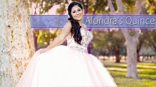 Alondra Deleon Quinceanera Highlights