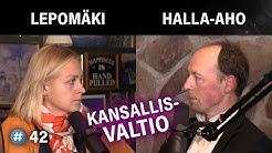Onko kansallisvaltioilla tulevaisuutta? (Jussi Halla-aho & Elina Lepomäki)   #puheenaihe 42
